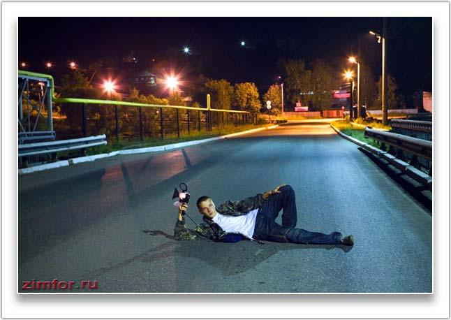 Среднее значение диафрагма при фотосъёмке ночью
