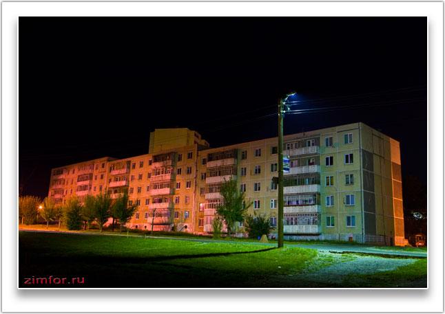 Баланс белого при ночной фотосъёмке