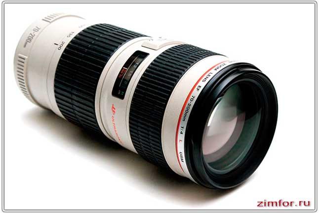 Canon EF 70-200 mm - ZOOM объектив