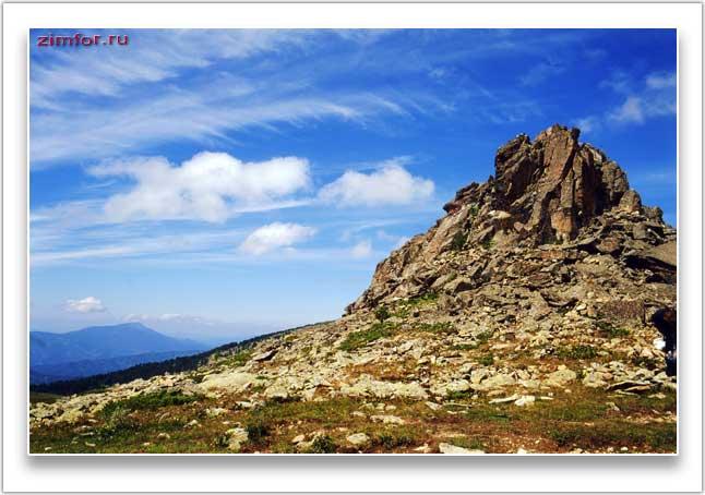 Горный фото пейзаж Алтая