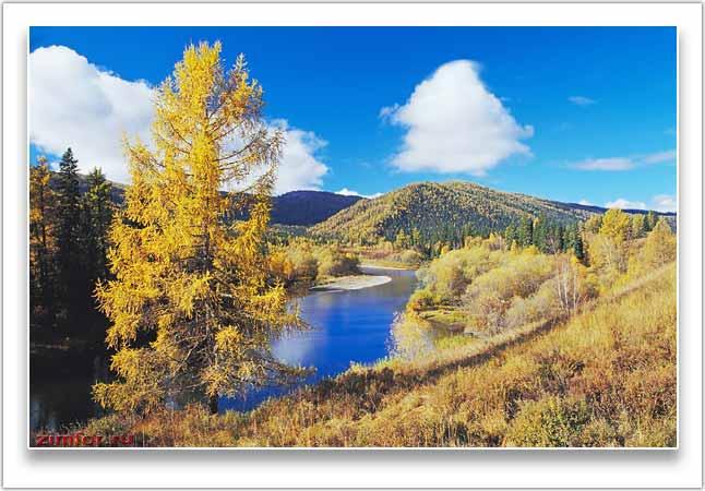 Осенний фотопейзаж на Алтае