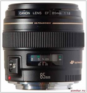Canon 85 mm - портретный объектив
