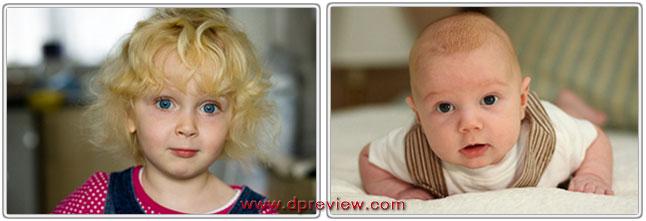 Фотографии детей, созданные объективом Canon EF 85 mm f/1.8 USM