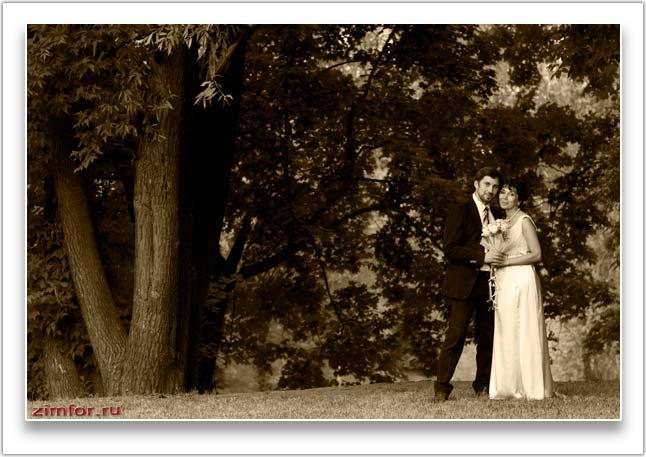 Свадебный фотопортрет