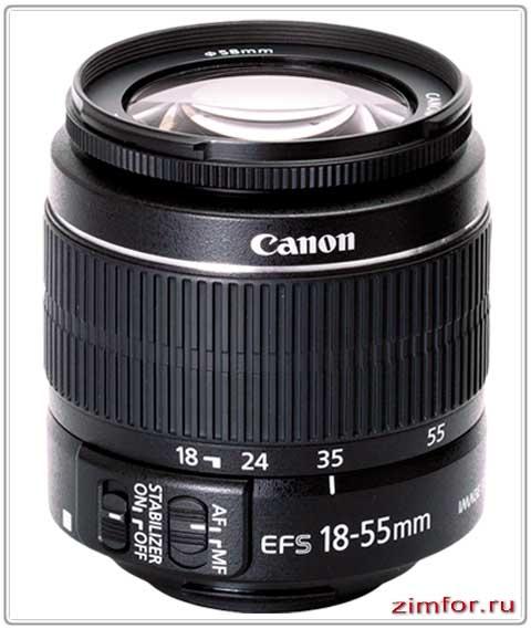 ZOOM объектив фирмы Canon
