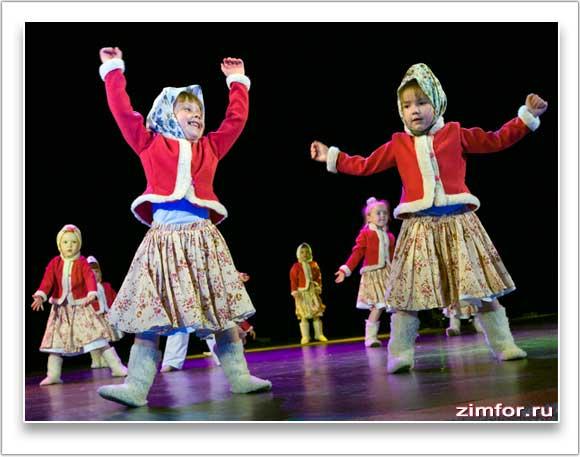 Концерт детского танцевального коллектива
