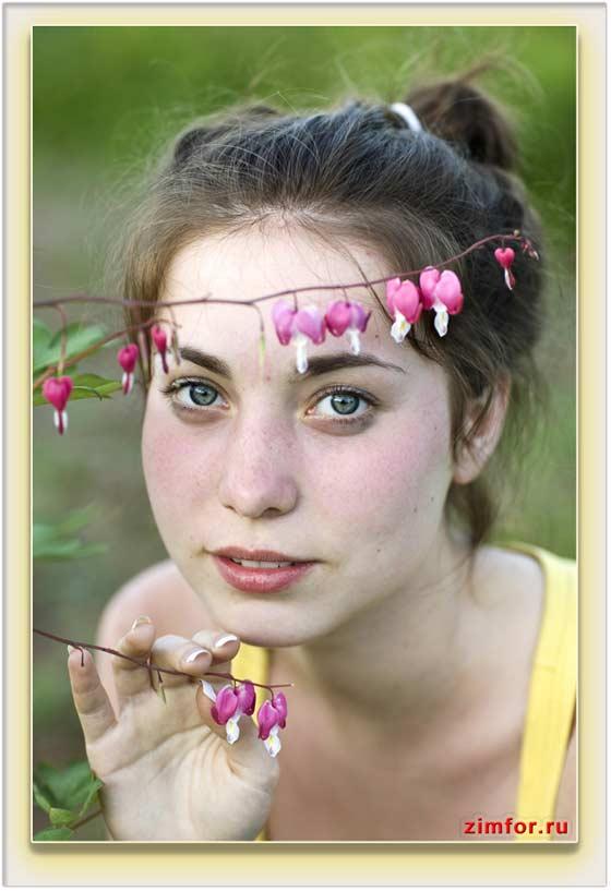 Фотопортрет, сделанный в ручном режиме