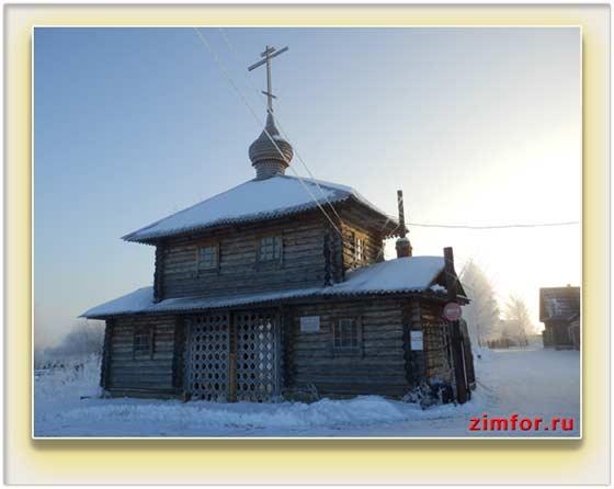 Православный храм. Автоматический режим фотоаппарата