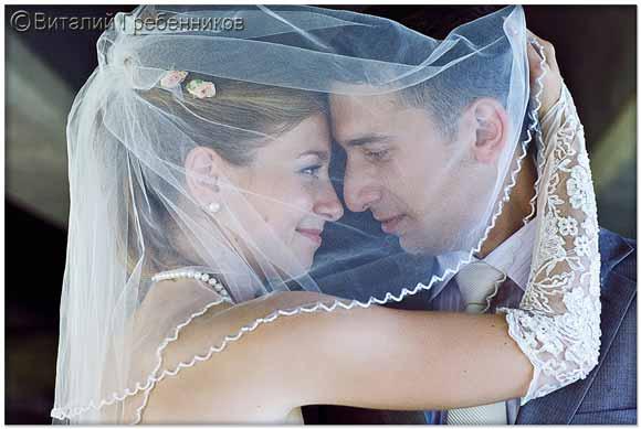 Обрамление. Акцент на эмоции невесты