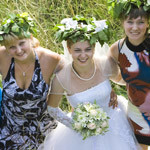 Свадебная фотосессия. Живые фотографии.