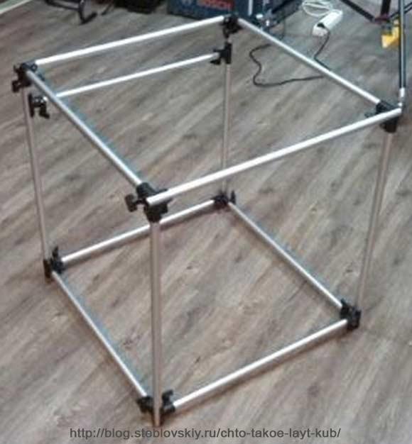 Как сделать куб из проволоки