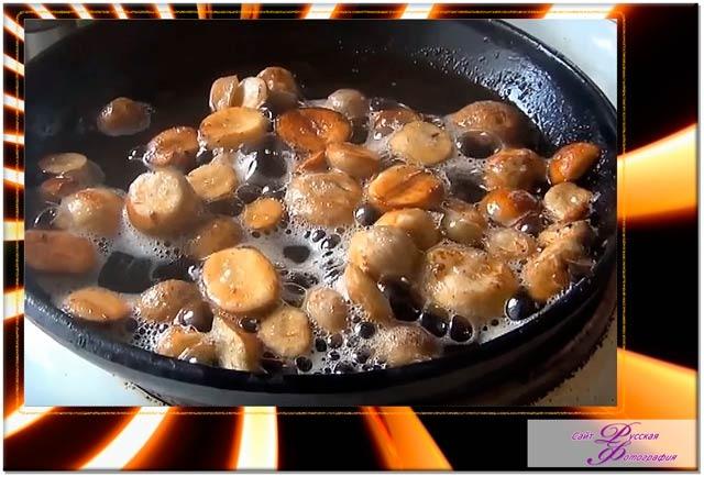 Видео - рецепт приготовления дождевика.